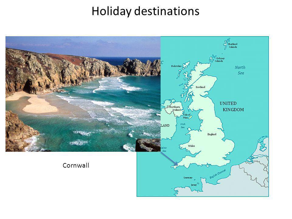 Holiday destinations Cornwall