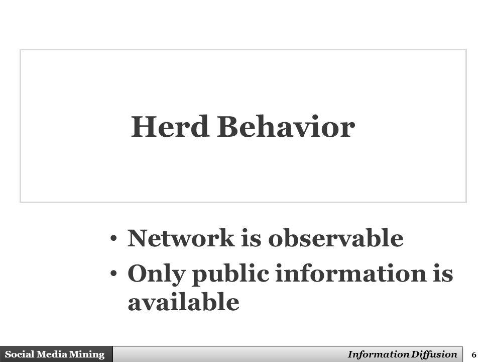 47 Social Media Mining Measures and Metrics 47 Social Media Mining Information Diffusion The Iowa Study of Hybrid Corn Seed, contd.