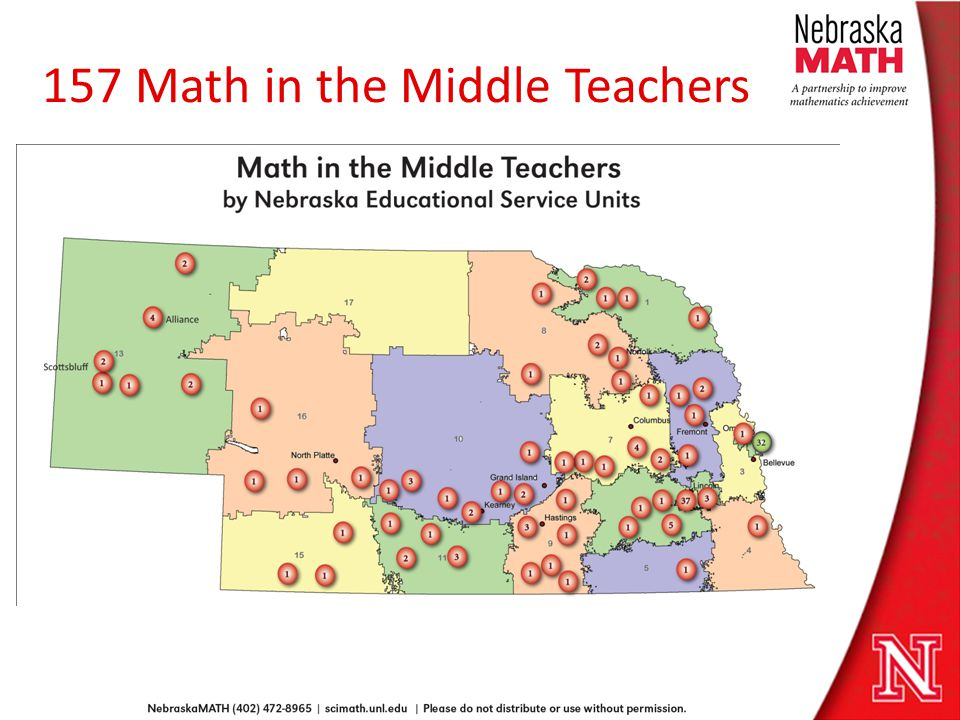 157 Math in the Middle Teachers