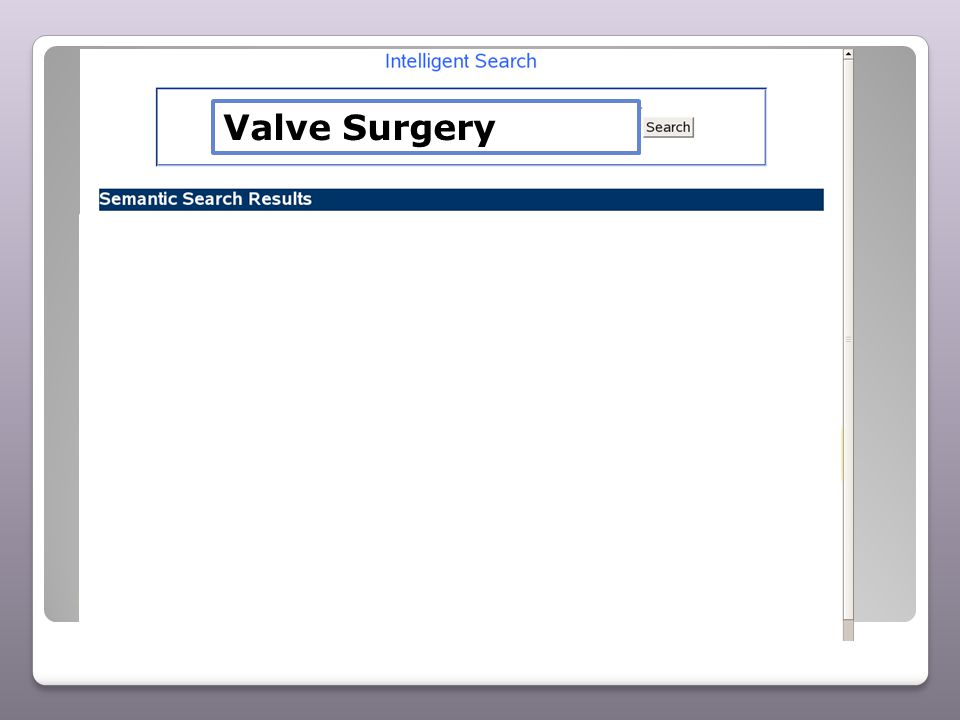 Valve Surgery