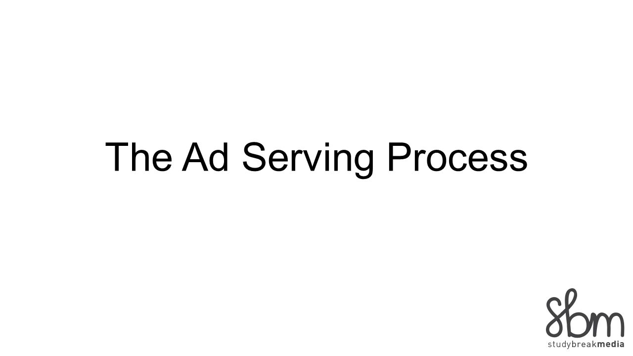 The Ad Serving Process