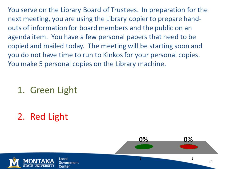 You serve on the Library Board of Trustees.