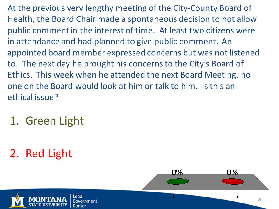 At the previous very lengthy meeting of the City-County Board of Health, the Board Chair made a spontaneous decision to not allow public comment in the interest of time.