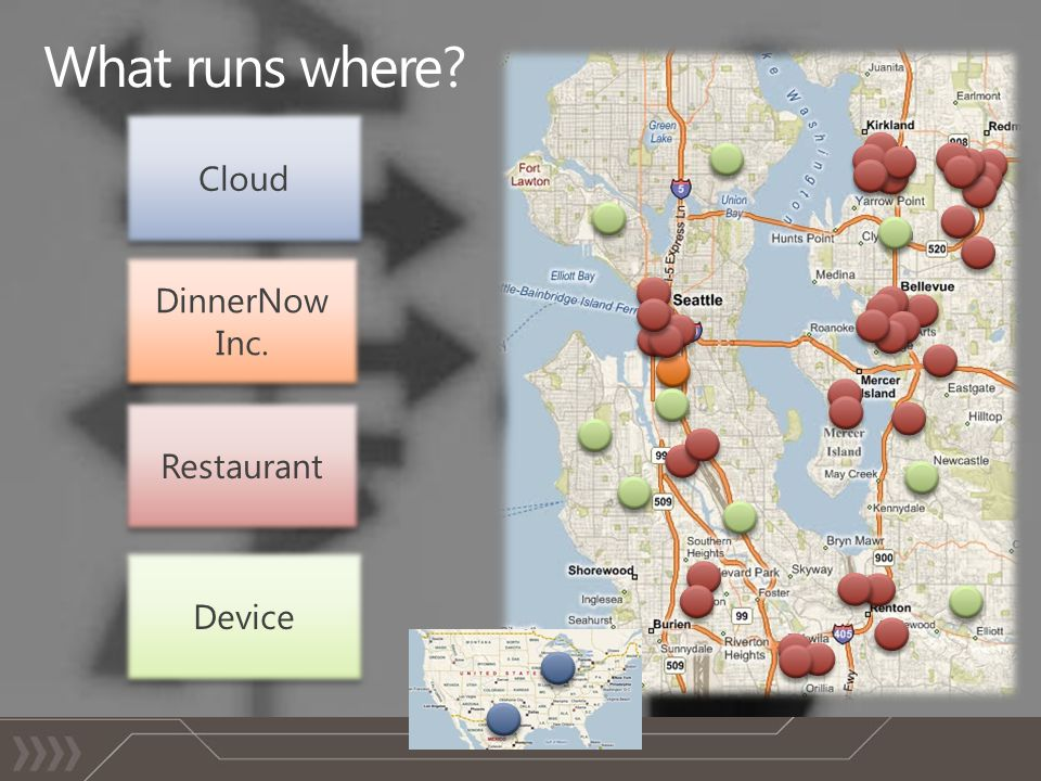 Device Restaurant DinnerNow Inc. Cloud