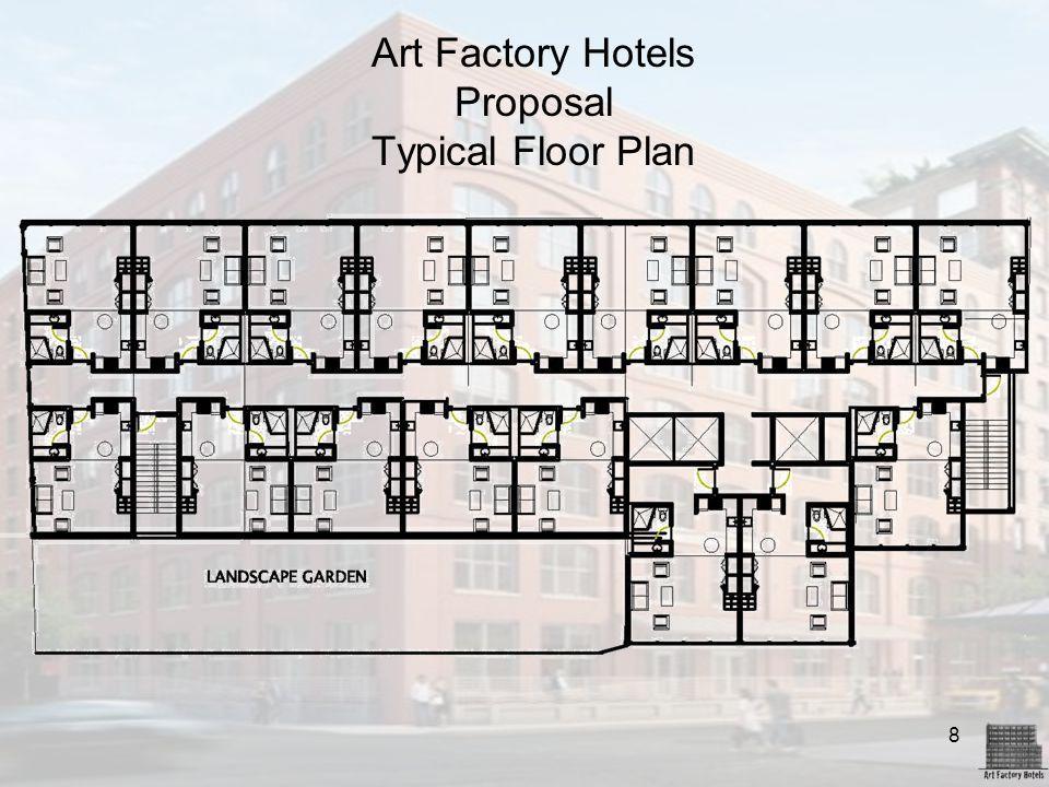 8 Art Factory Hotels Proposal Typical Floor Plan