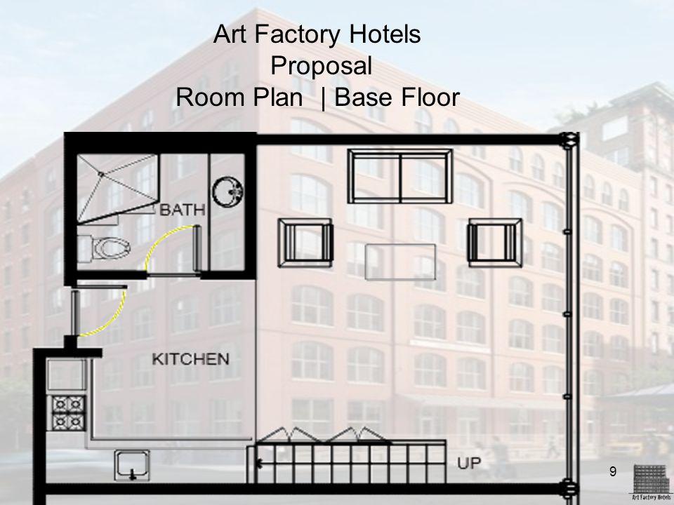9 Art Factory Hotels Proposal Room Plan | Base Floor