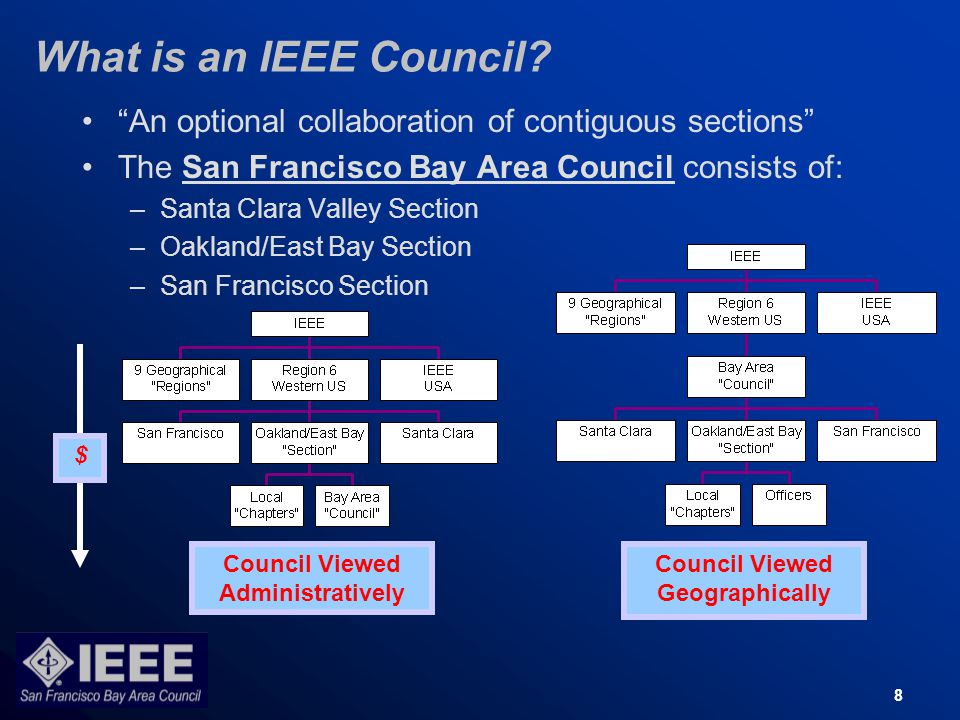 8 What is an IEEE Council.