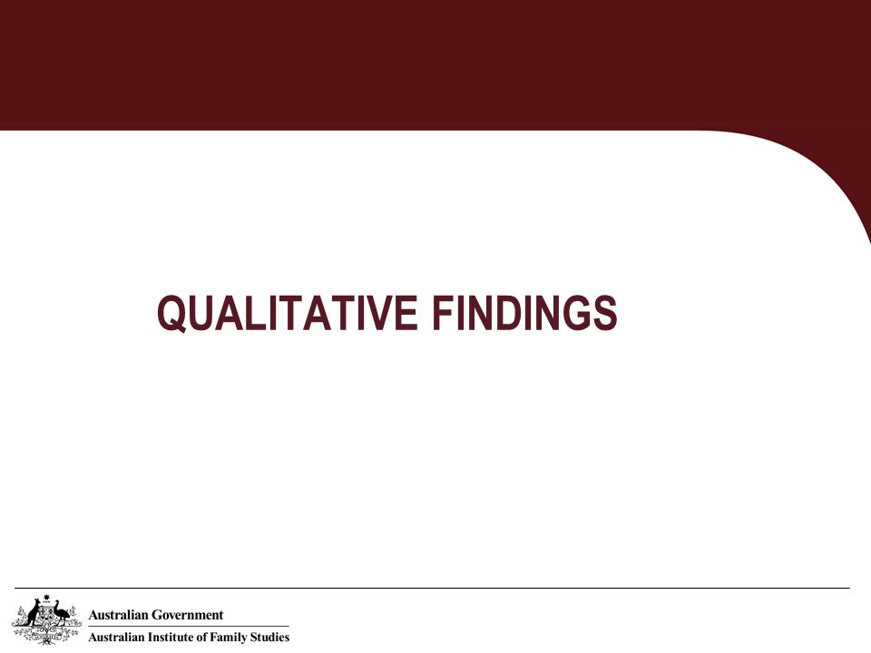 Qualitative data Work and Family: the Familys Perspective (W&F) The Family and Work Decisions Study (qualitative component) (FAWD) The Life Around Here Study (LAH)
