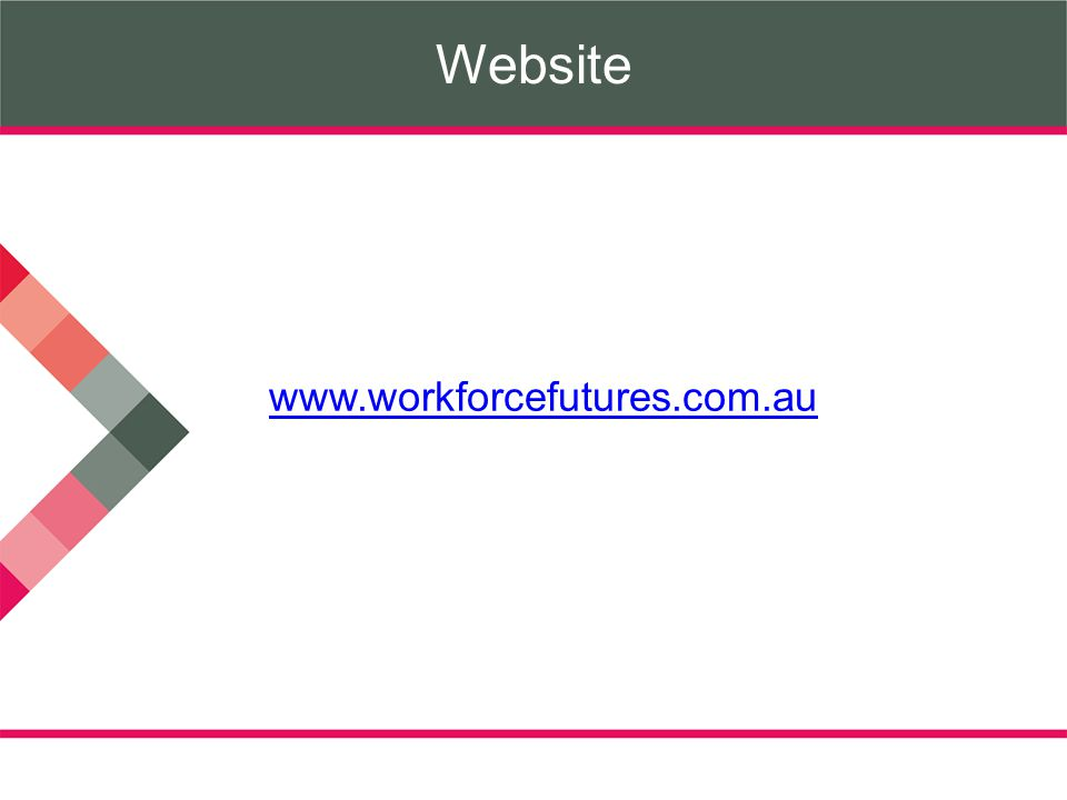 Website www.workforcefutures.com.au