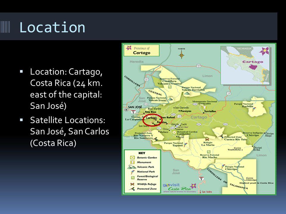 Location Location: Cartago, Costa Rica (24 km.