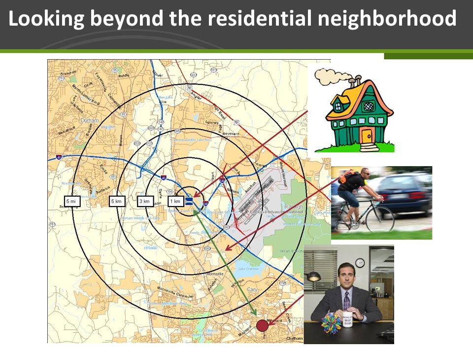 Page 27 Looking beyond the residential neighborhood