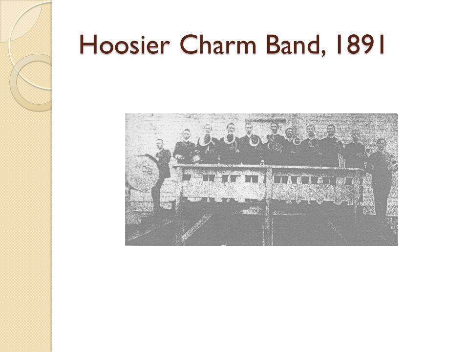 Hoosier Charm Band, 1891