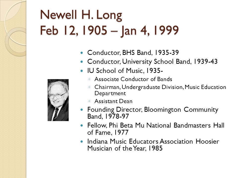Newell H.