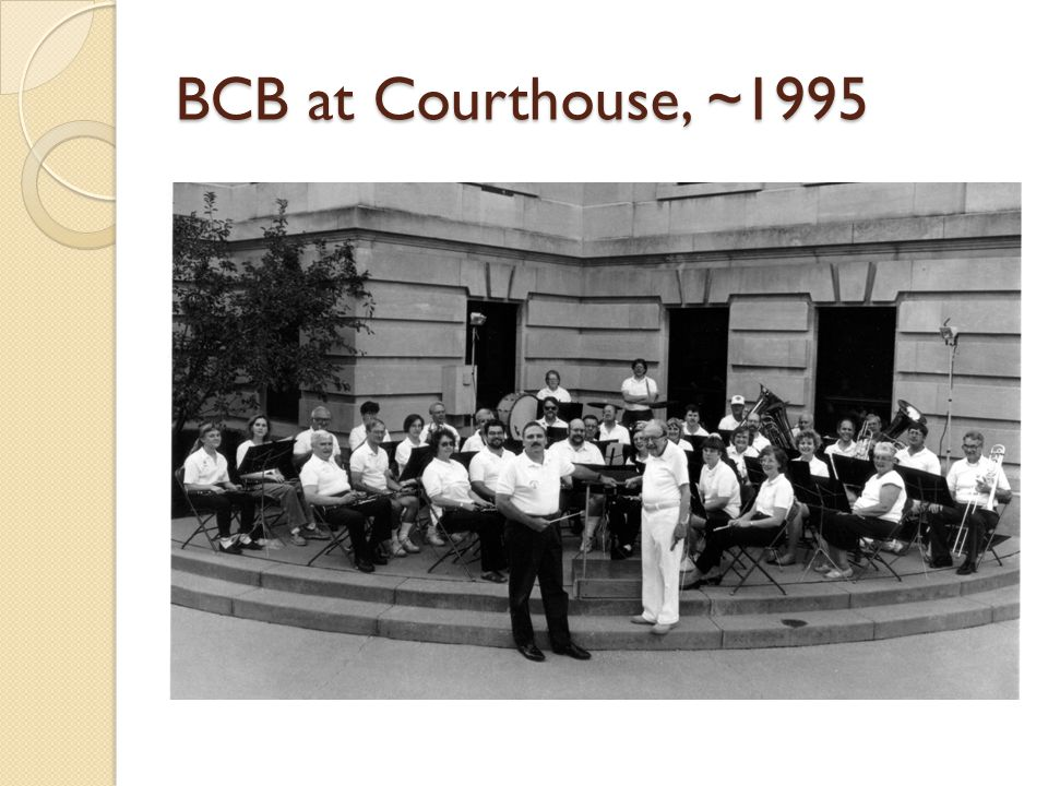 BCB at Courthouse, ~1995