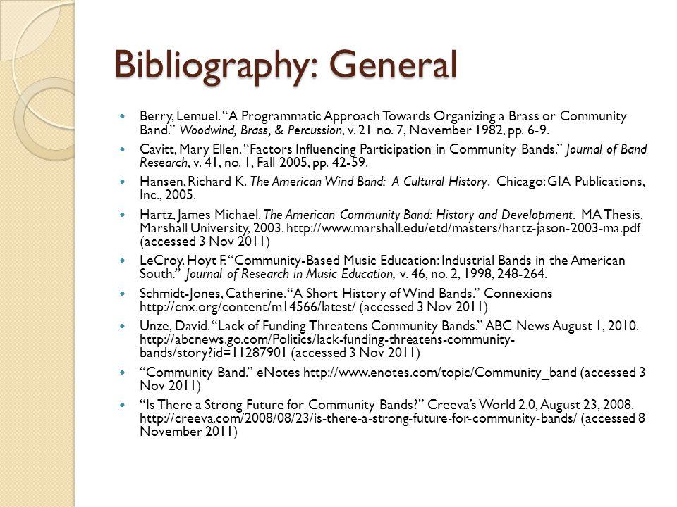 Bibliography: General Berry, Lemuel.