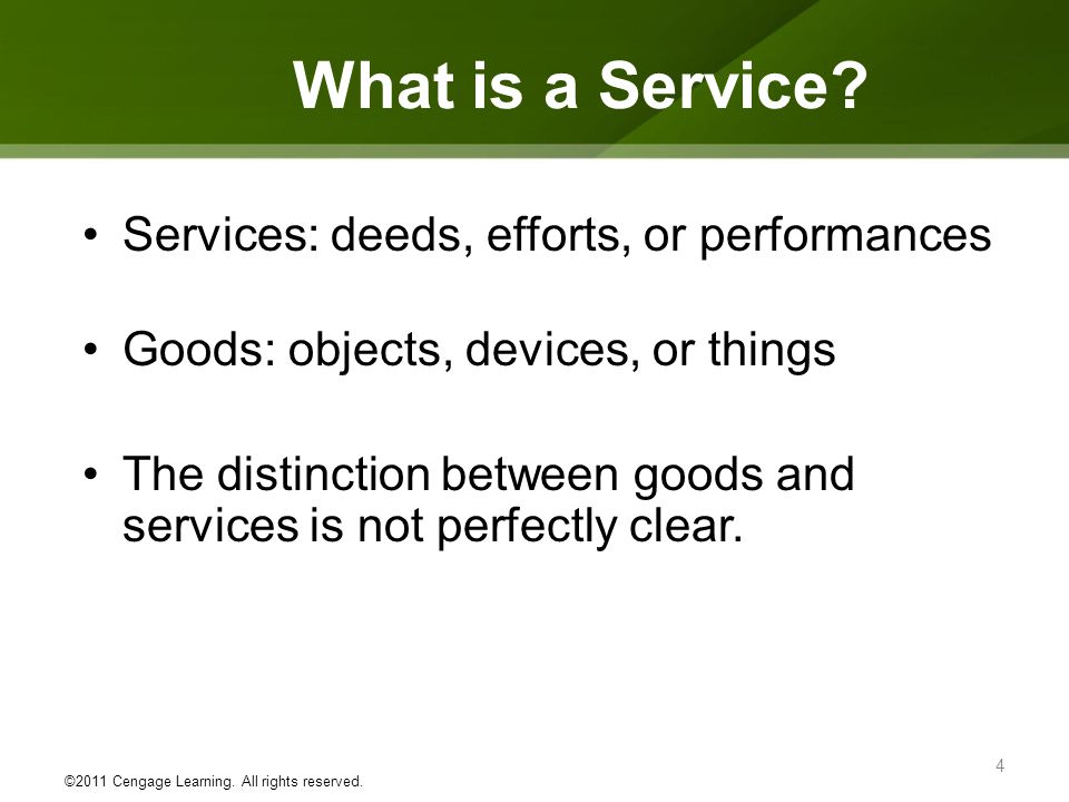 What is a Service.