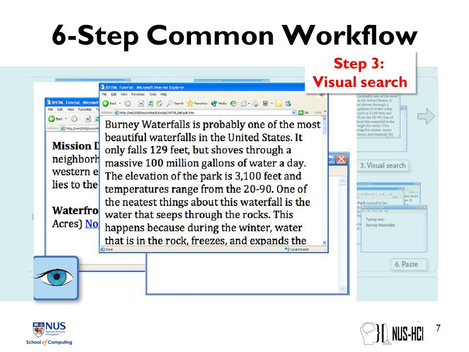 6-Step Common Workflow 8 Step 4: Highlighting & Copy Step 4: Highlighting & Copy