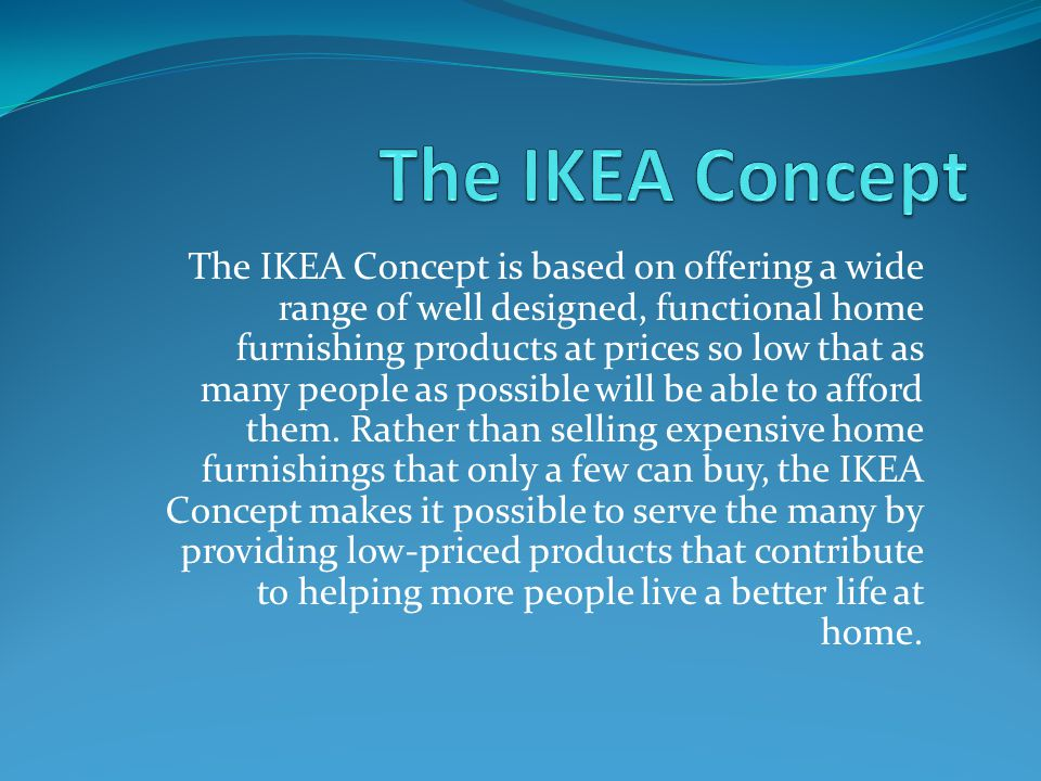 Environmental Responsibility IKEA also supports American Forrest to restore forests and reduce pollution.