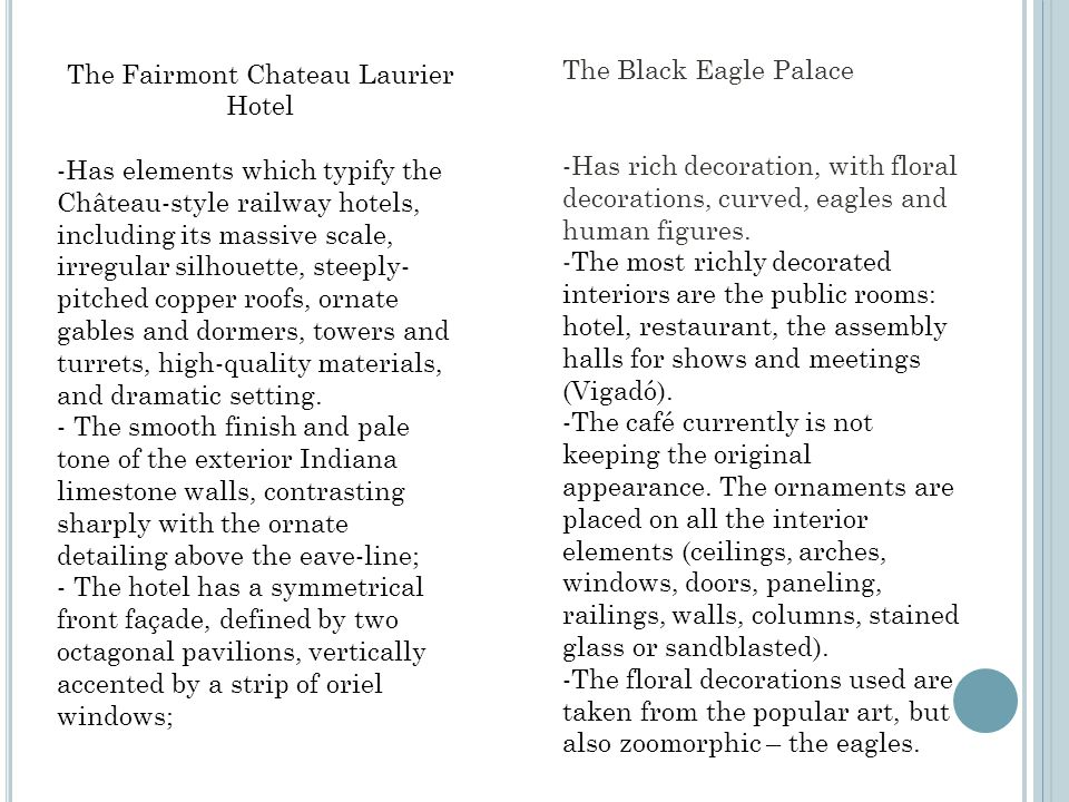 The Black Eagle Palace -Has rich decoration, with floral decorations, curved, eagles and human figures.