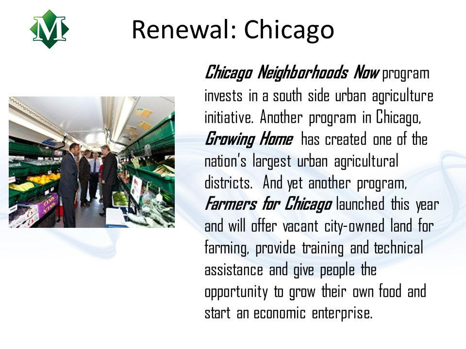 Renewal: Detroit The Detroit Food Policy Council is an education, advocacy and policy organization led by Detroiters committed to creating a sustainable, local food system that promotes food security, food justice and food sovereignty in the city of Detroit.