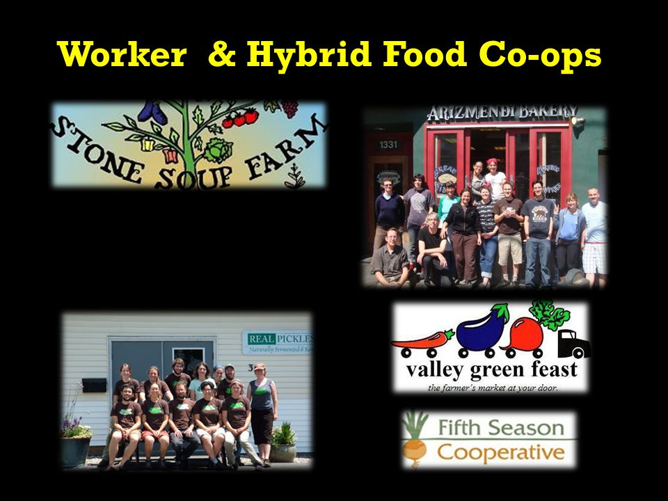 Worker & Hybrid Food Co-ops