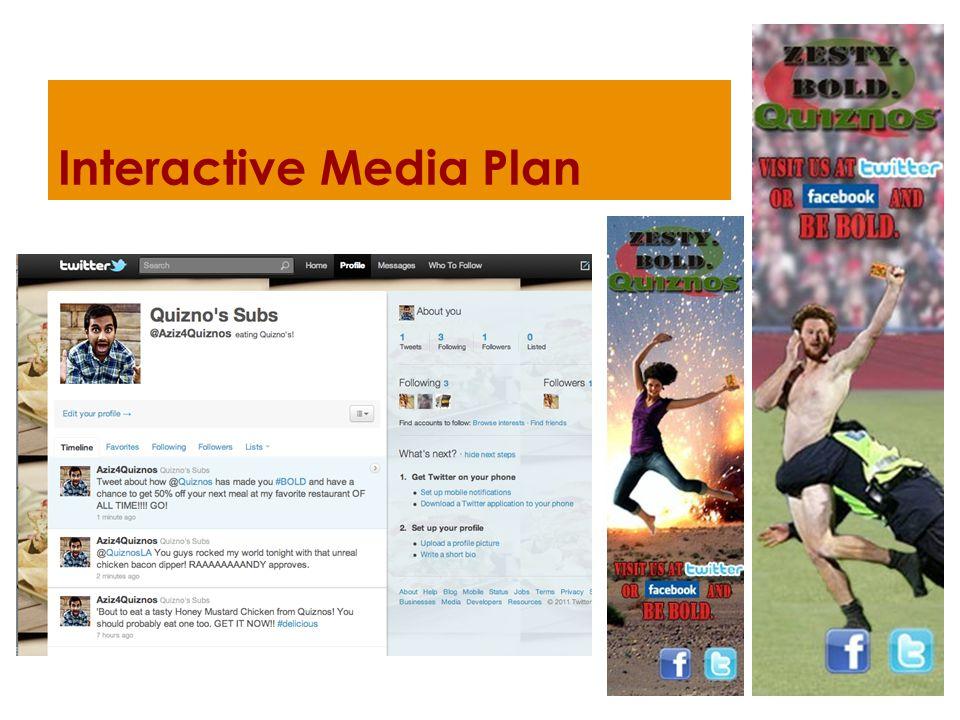 Interactive Media Plan