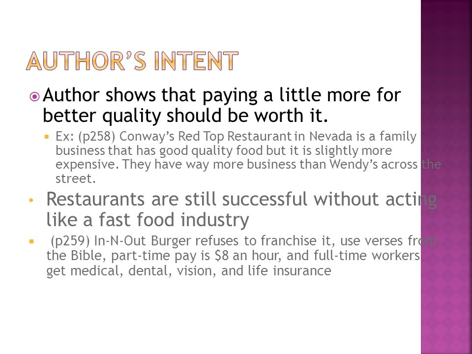 Author shows that paying a little more for better quality should be worth it.