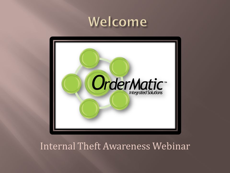 Internal Theft Awareness Webinar