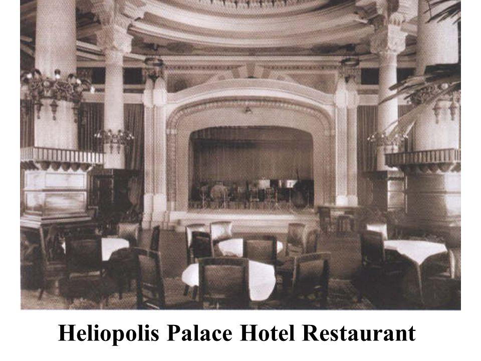 Heliopolis Palace Hotel Restaurant
