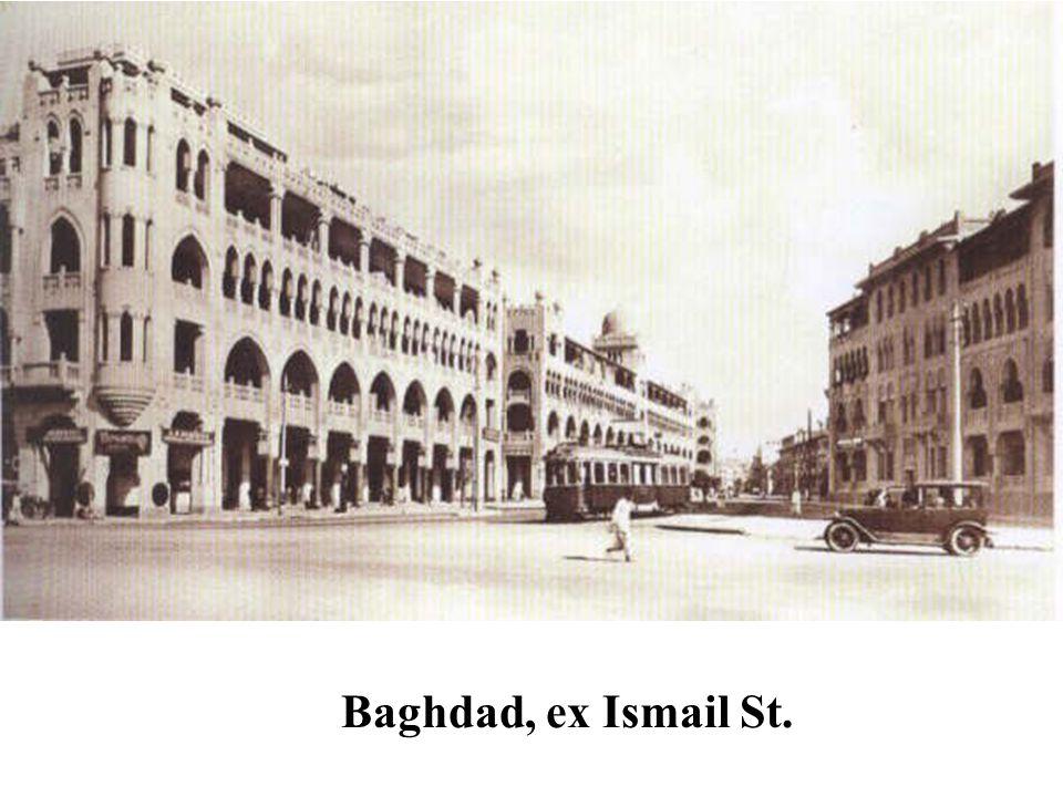 Pyramids Street 1930