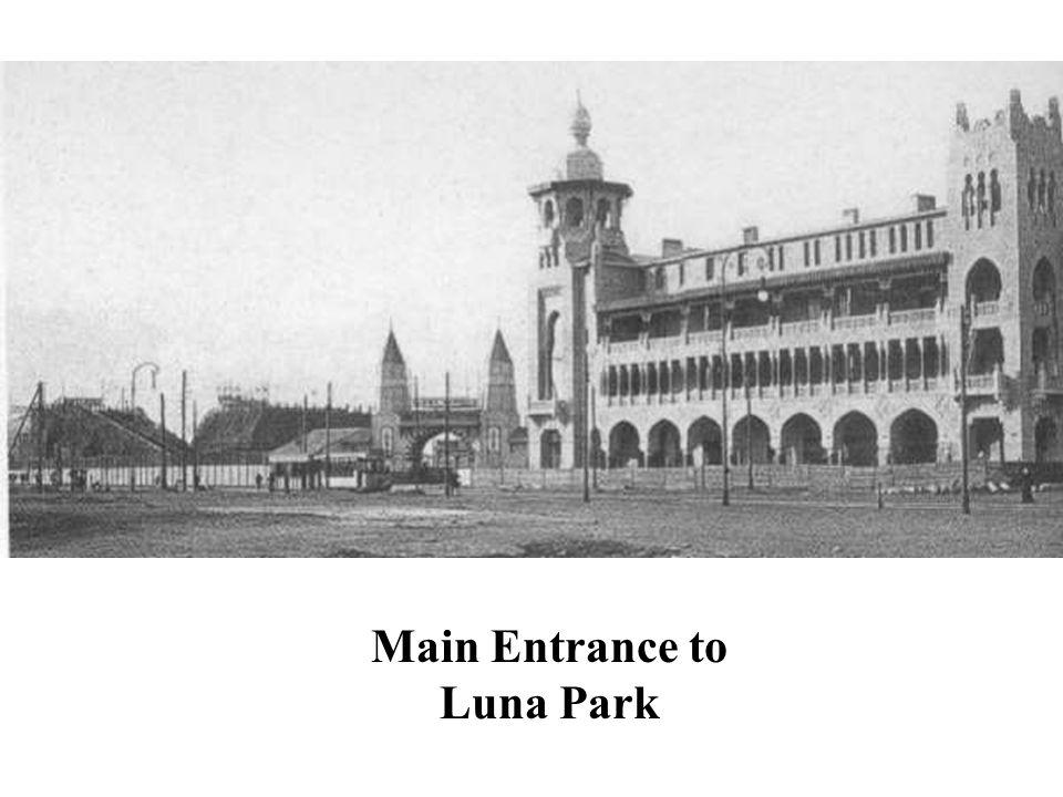 Main Entrance to Luna Park