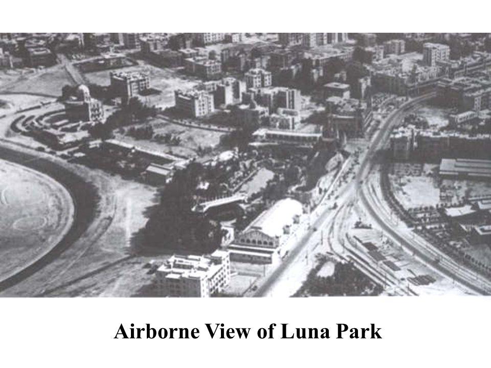 Airborne View of Luna Park