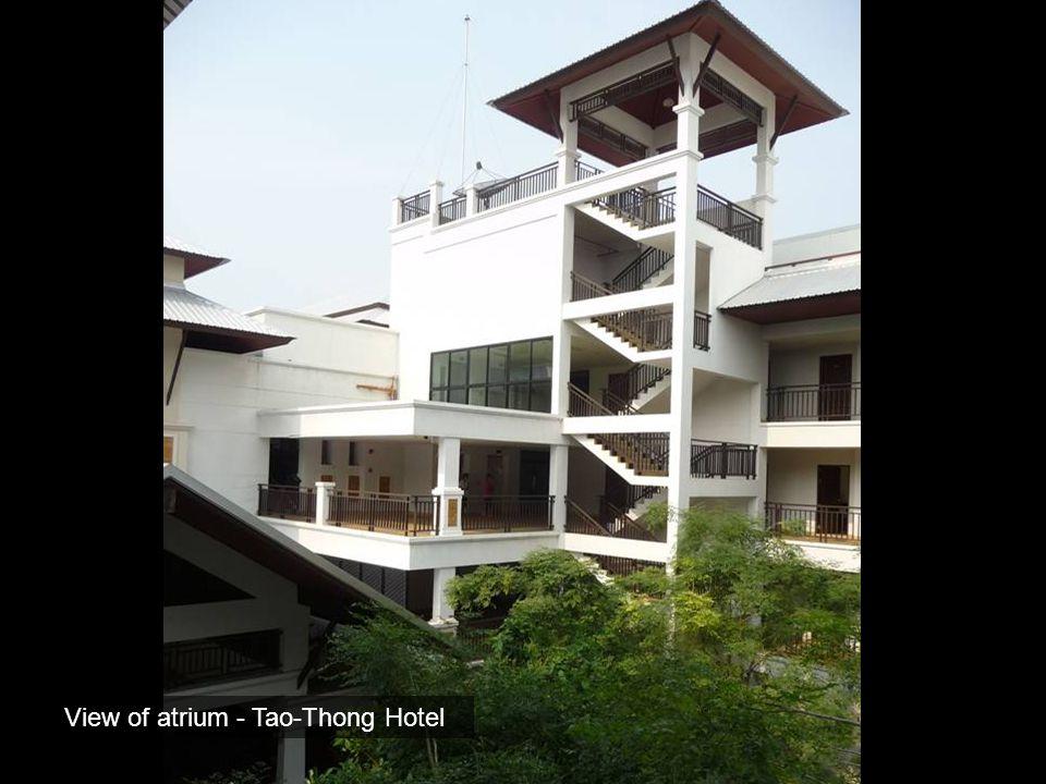 View of atrium - Tao-Thong Hotel