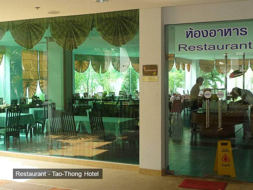 Restaurant - Tao-Thong Hotel