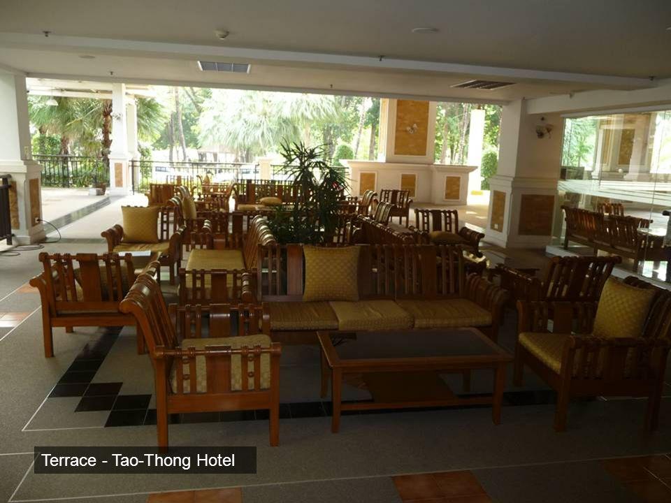 Terrace - Tao-Thong Hotel