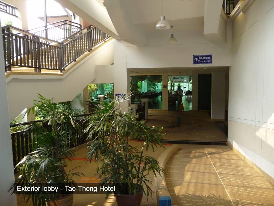 Exterior lobby - Tao-Thong Hotel