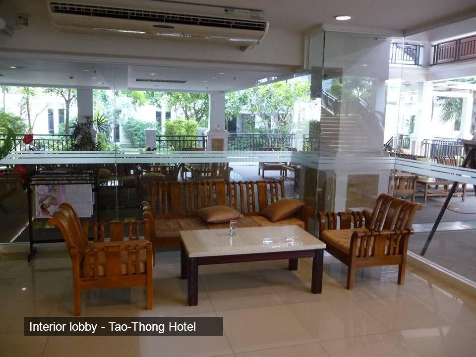 Interior lobby - Tao-Thong Hotel
