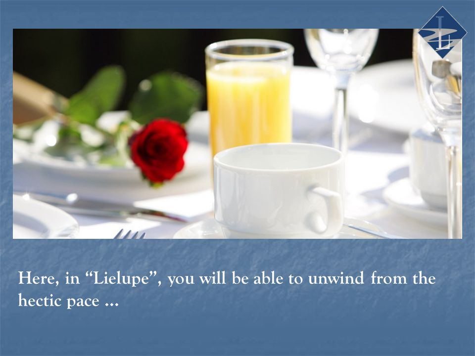 Here, in Lielupe, you will be able to unwind from the hectic pace...