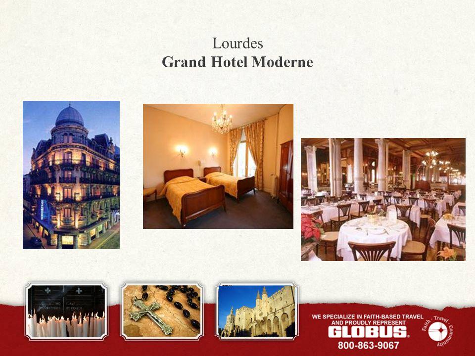 Lourdes Grand Hotel Moderne