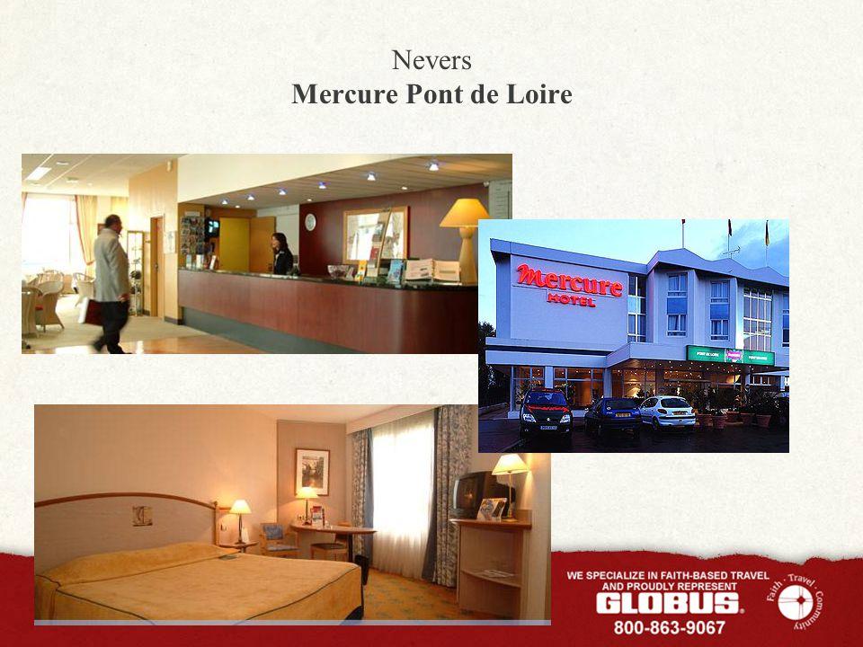 Nevers Mercure Pont de Loire