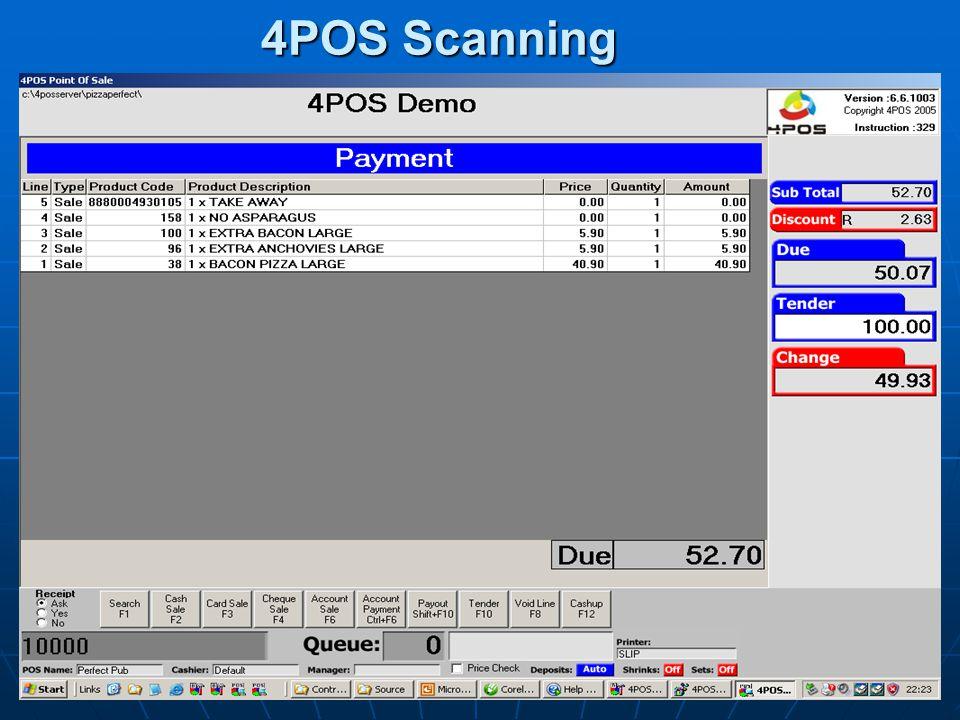 4POS Scanning