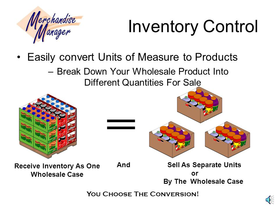 Inventory Enter Your Inventory With Ease Specific Fields for Entry Select Price Categories and Cost Conversions Set Up Discounts and Sales Promotions Set Sales by timeline or by quantity sold