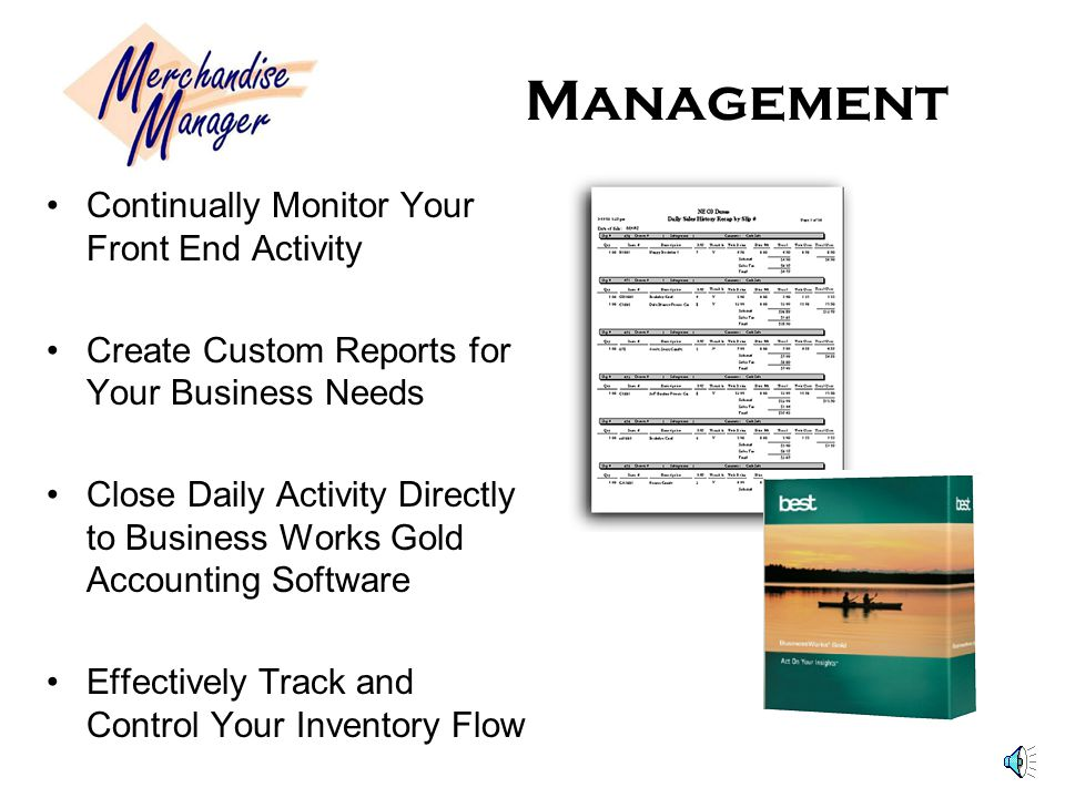 Inventory Control Easily convert Units of Measure to Products –Break Down Your Wholesale Product Into Different Quantities For Sale Receive Inventory As One Wholesale Case And Sell As Separate Units or By The Wholesale Case You Choose The Conversion!