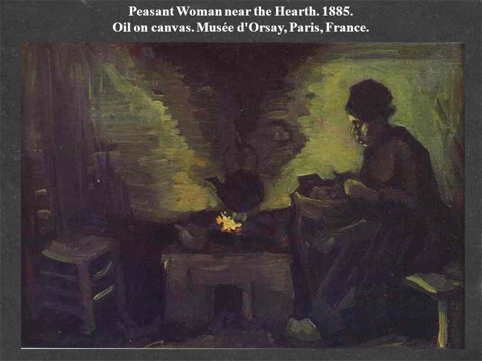 Peasant Woman near the Hearth. 1885. Oil on canvas. Musée d'Orsay, Paris, France.