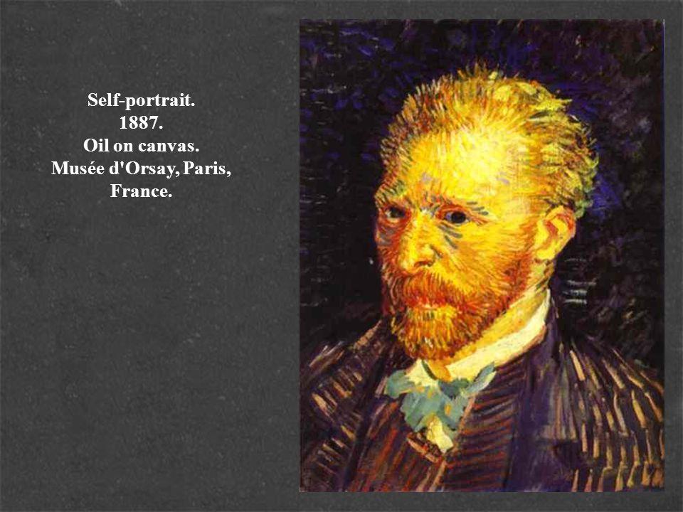 Self-portrait. 1887. Oil on canvas. Musée d'Orsay, Paris, France.