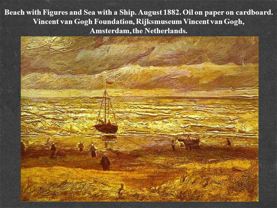 Harvest Landscape.June 1888. Oil on canvas.