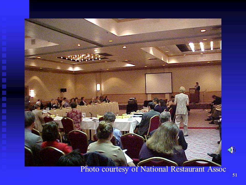 51 Photo courtesy of National Restaurant Assoc