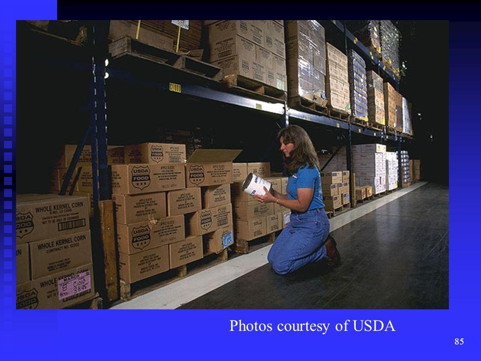 85 Photos courtesy of USDA