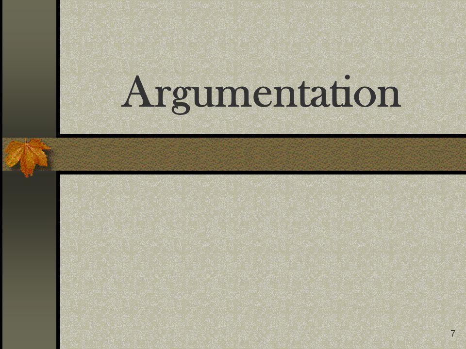7 Argumentation