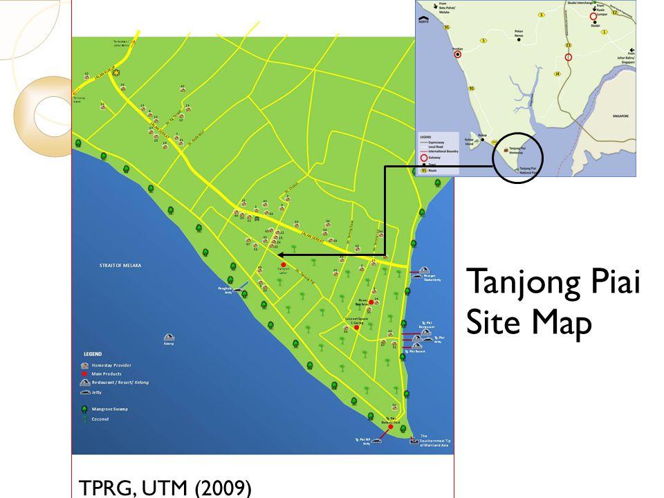 7/23/10 Tanjong Piai Site Map TPRG, UTM (2009)